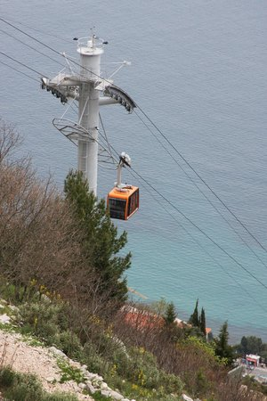 Funiculaire de Dubrovnik : View from top
