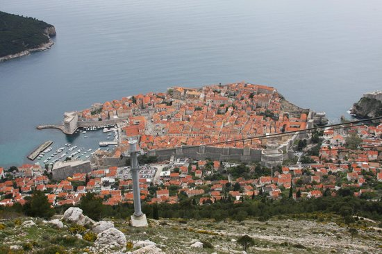 Funiculaire de Dubrovnik : The city view