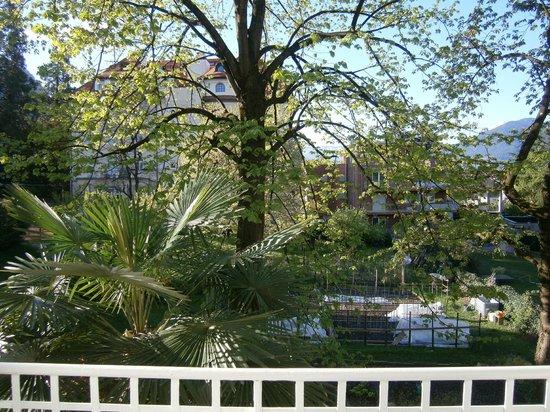 Residence Diana: Aussicht vom Balkon