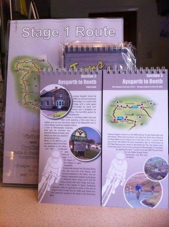 Corn Mill Tearoom: Tour de Dales guides