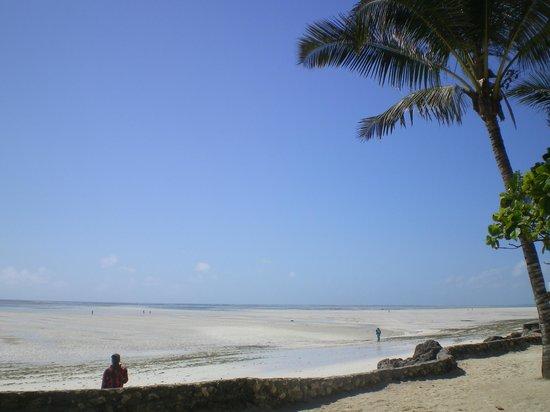 Diamonds Mapenzi Beach Club: spiaggia