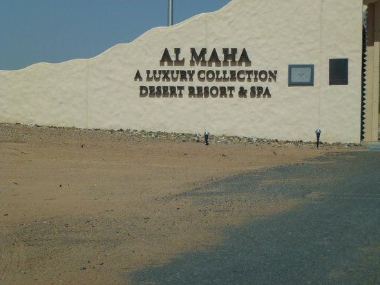 Al Maha, A Luxury Collection Desert Resort & Spa: Entrance