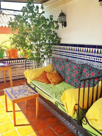 Triana Backpackers: Rooftop