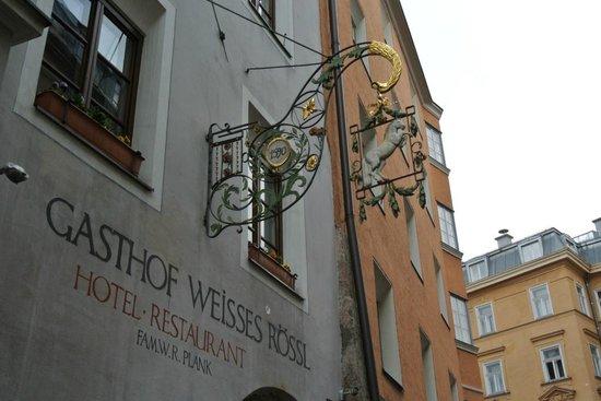 Gasthof Weißes Rössl: Gasthof Weisses Roessl, close to everything
