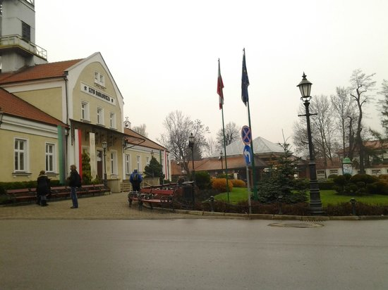 Wieliczka: What the salt museum/mine looks from outside