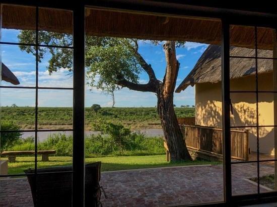 Buckler's Africa: Vu depuis le lit de notre chambre