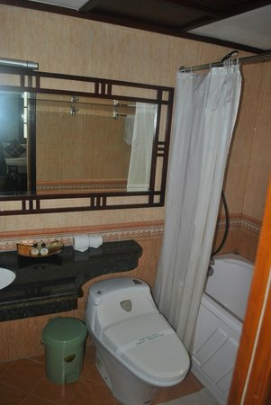 Hong Ngoc Hotel : bathroom
