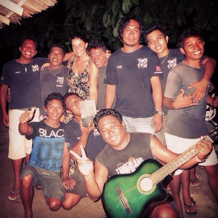 Two Fish Divers Bunaken: Some of the awesome staff!