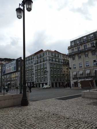 The Beautique Hotels Figueira: Vista laterale dell'Hotel