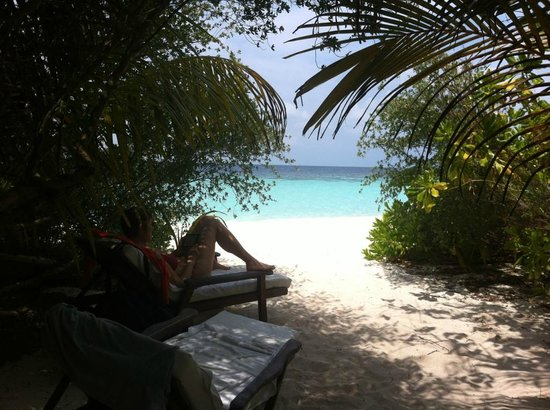 Eriyadu Island Resort: Scorcio