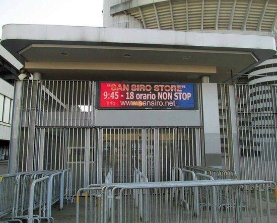 Stadio Giuseppe Meazza (San Siro): entrada