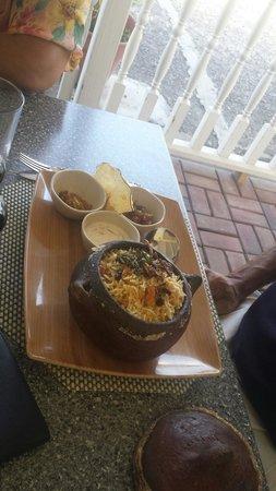Elegance Cafe : Lamb briyani