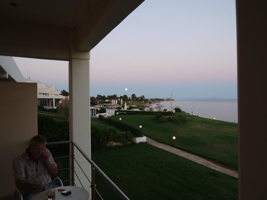 Thraki Palace Hotel & Conference Center: View from the room's balcony on 1st floor