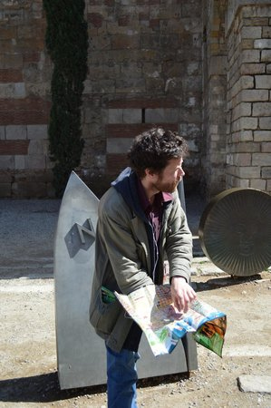 Travel Bound Barcelona Free Walking Tours : Our eccentric, educated, fantastic tour guide!