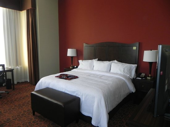 Hampton Inn & Suites Bradenton Downtown Historic District : King size bed