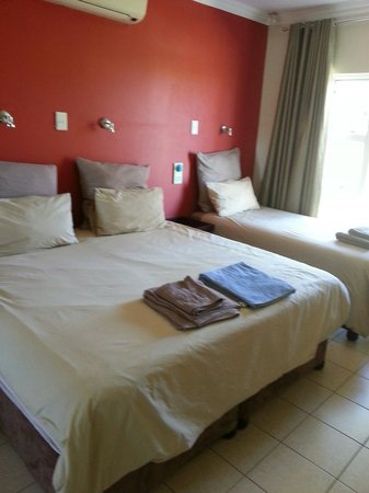 T & T Bed and Breakfast : Spacious comfortable rooms and beds
