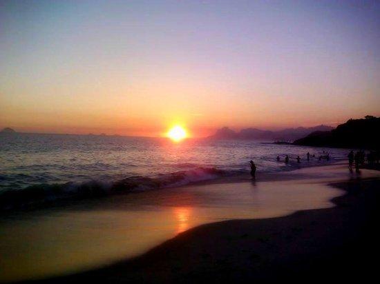 Camboinhas Beach: por do sol