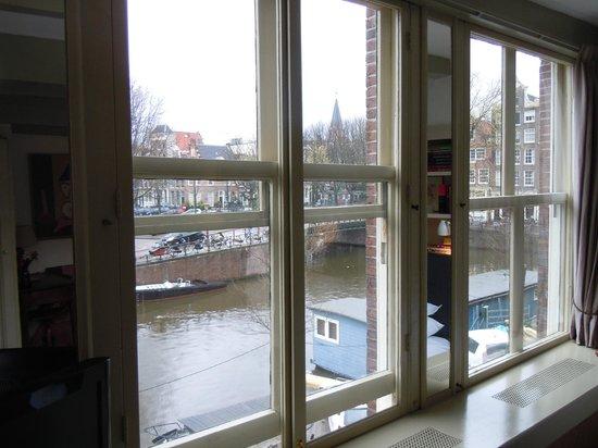 B&B Herengracht 21: vista su Herengracht