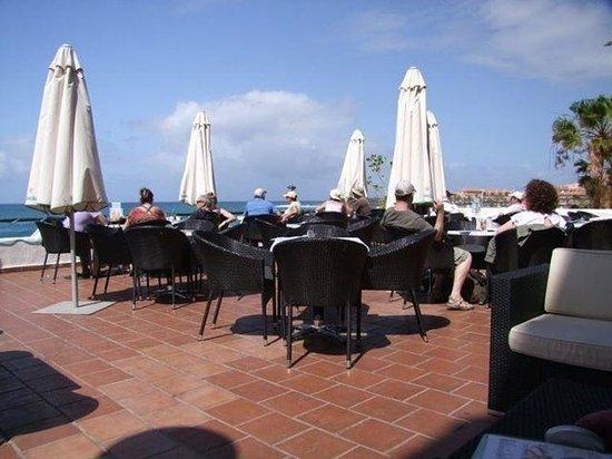Restaurant Family Bar Balu: The terrace