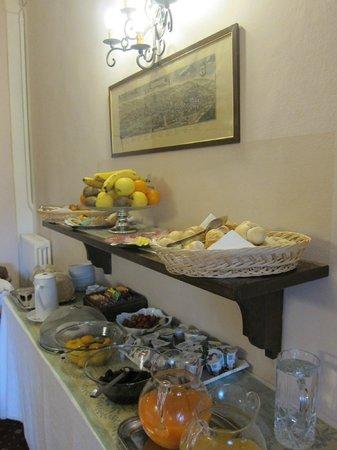 Relais Uffizi : breakfast