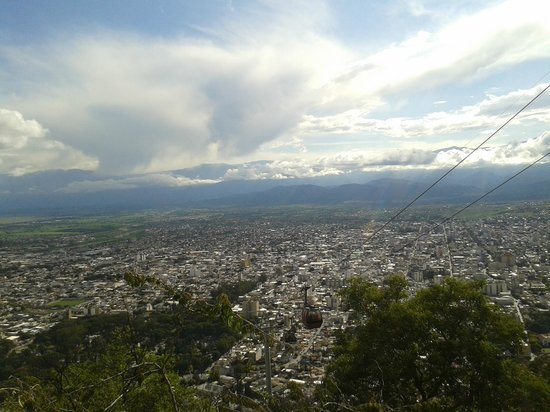 Salta Tram (Teleferico) : vista de la ciudad de salta