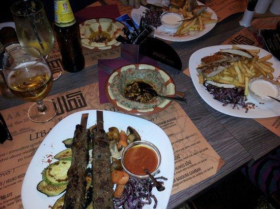 Hanan: Good kebabs and meze