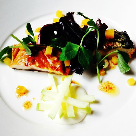The Townhouse Restaurant: Smoked Mackerel starter