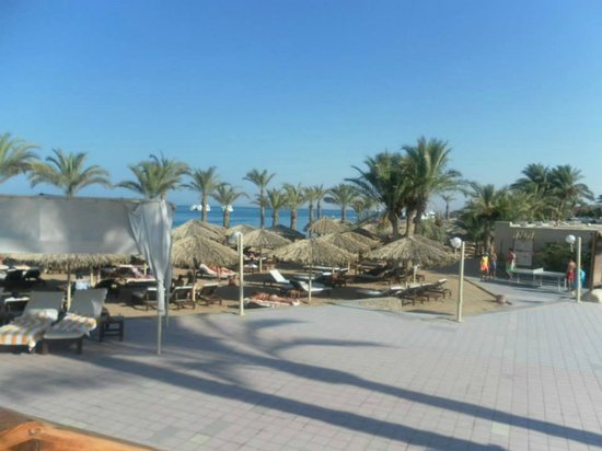 Sindbad Aqua Hotel & Spa : Beach at hotel