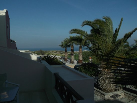 Villa Manos: Large balcony view