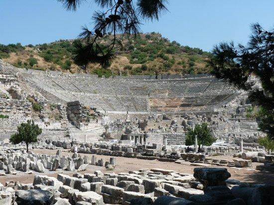 Vieille ville d'Éphèse : theâtre
