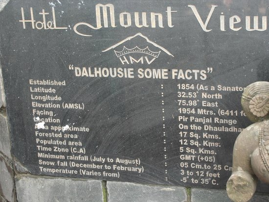 Hotel Mount View & Spa: Hotel Facts
