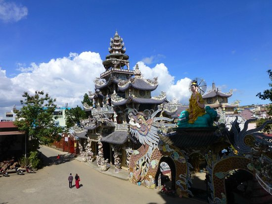 Pagode de Linh Phuoc : pagoda