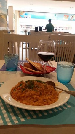 Fresco Co : Chicken Risotto with Jacobs Creek Red Wine