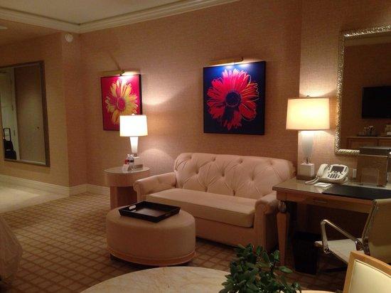 Wynn Las Vegas: Suite 19th floor