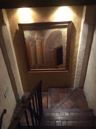 Hotel Lo De Bernal: lo scalone
