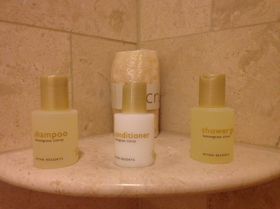 Wynn Las Vegas: Toiletries