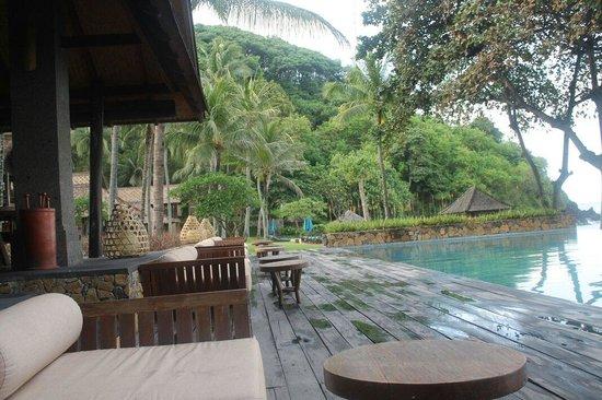 Jeeva Klui Resort: Pool view