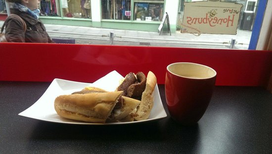 Hartleys Coffee & Sandwich Bar : Sausages!