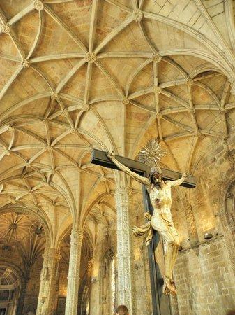 Jeronimos Monastery: interno chiesa