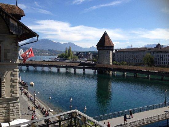 Altstadt Hotel Magic Luzern : Chapel bridge