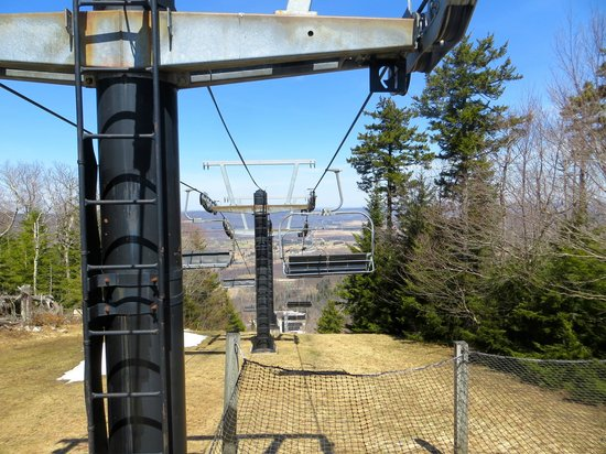 Canaan Valley Resort: View from Trail at the Top of the Ski Lift