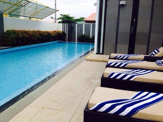 Seda Abreeza Davao : Pool looked very inviting