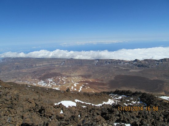 CLC Paradise: View from Mt Teide