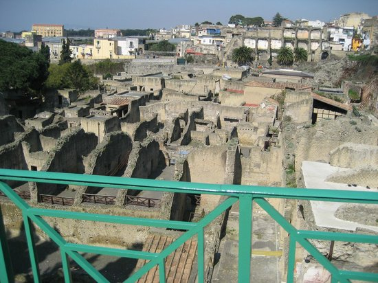 Ruins of Herculaneum: Over view of Herculaneum