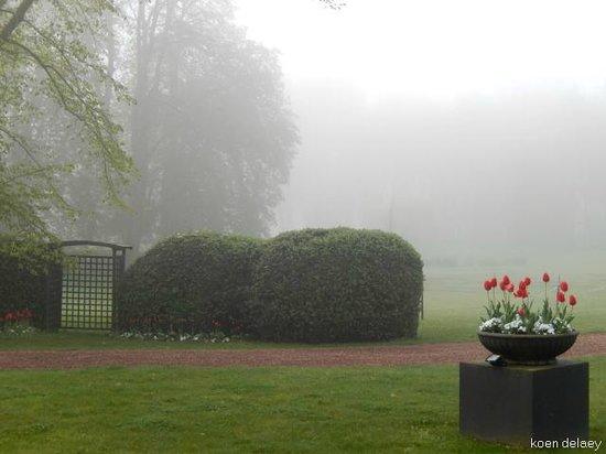 Le Château de Beaulieu : tuin en park