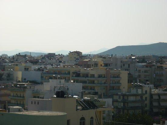 Galaxy Hotel Iraklio: view from 6th floor balcony
