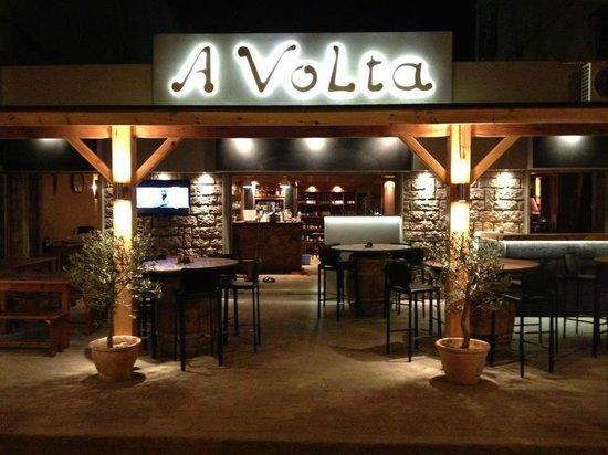 Restaurant A Volta : Bar à vin A VOLTA