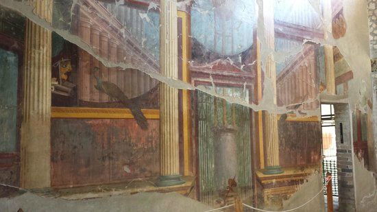 Scavi di Oplontis : Wall paintings at Oplontis