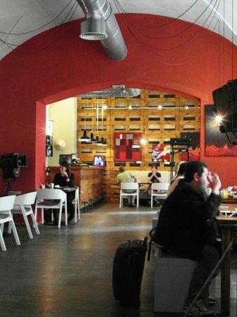 NYX Prague: sala colazione