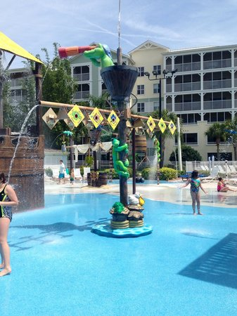 Marriott's Harbour Lake : Splash park